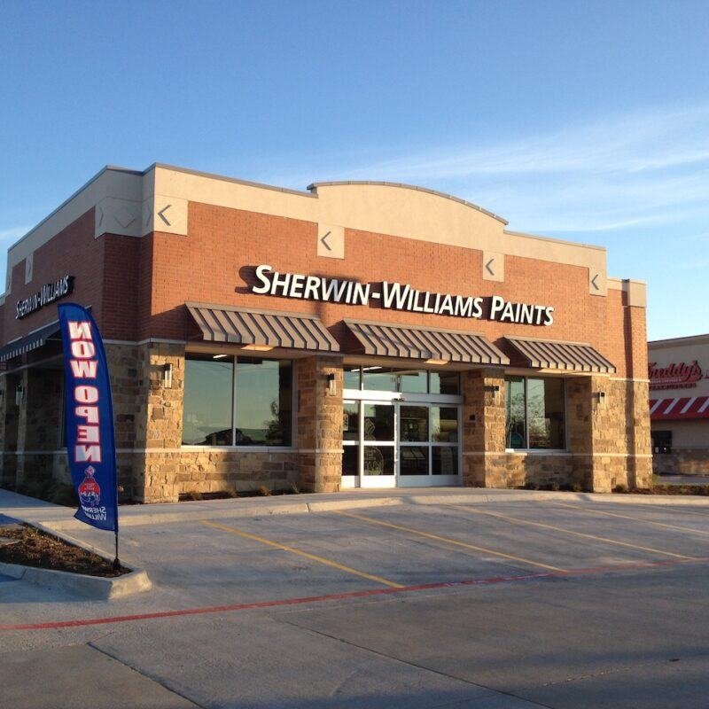 Retail Developments Texas Sherwin Williams_ N3 Real Estate