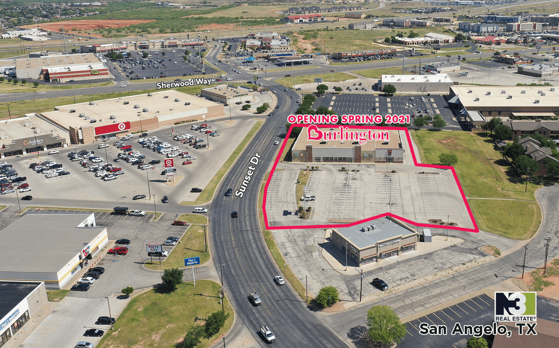 N3 Real Estate opens Burlington in San Angelo, TX